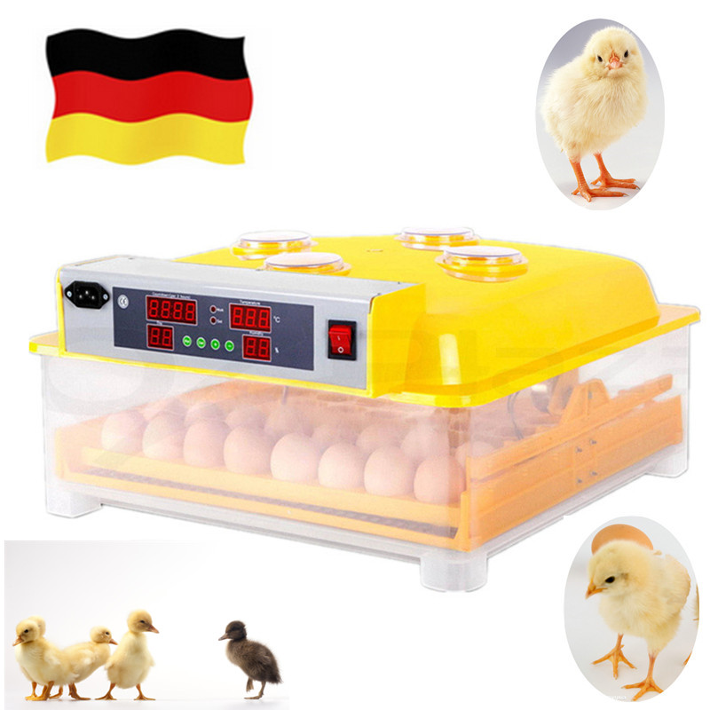 Mini Small 48 Eggs Incubator Poultry Incubator Brooder Digital Temperature Control Hatchery Egg Incubator Hatcher for Chicken small chicken poultry hatchery machines 48 automatic egg incubator 220v hatching for sale