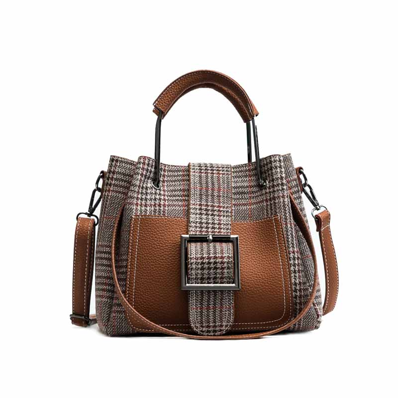 2018 autumn and winter hit the color shoulder bag fashion European and American style casual bag