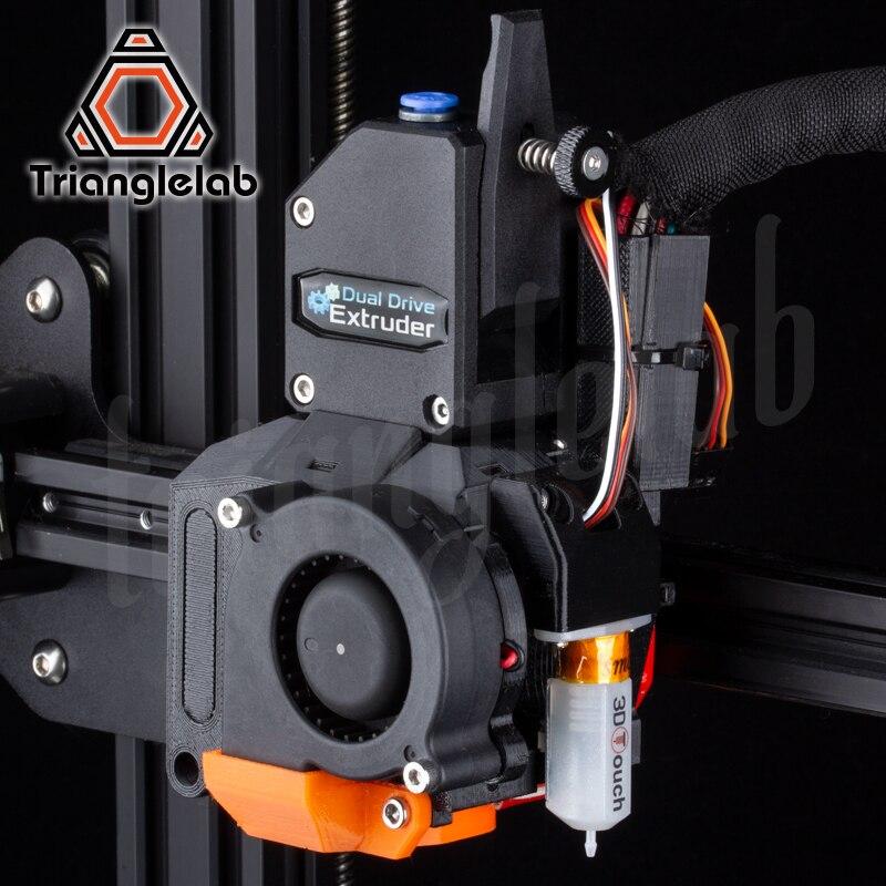 Kit de mise à niveau d'extrudeuse à entraînement Direct trianglelab DDE pour imprimante 3D Creality3D série Ender-3/CR-10 grande amélioration des performances - 4