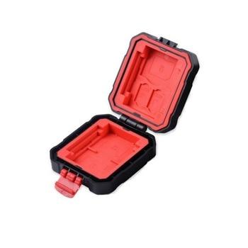 LYNCA 9 Slots Waterproof/shockproof Memory Card Storage Case Holder For SD/CF/MSD/XQD/TF/SDHC SDXC Micro SD Card Storage Box