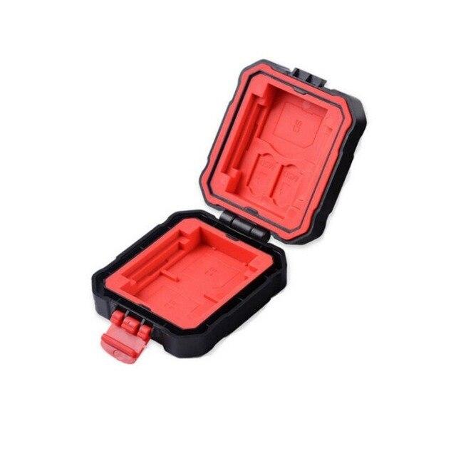 LYNCA 9 слотов водонепроницаемый/ударопрочный карта памяти чехол держатель для SD/CF/MSD/XQD/TF/SDHC SDXC Micro SD контейнер для хранения карточек