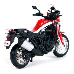 Image 4 - 1:18 skala Maisto Honda CRF1000L afryka Twin DCT 2016 Sport Diecast Off motocykl szosoway Model zabawkowy prezenty dla dzieci
