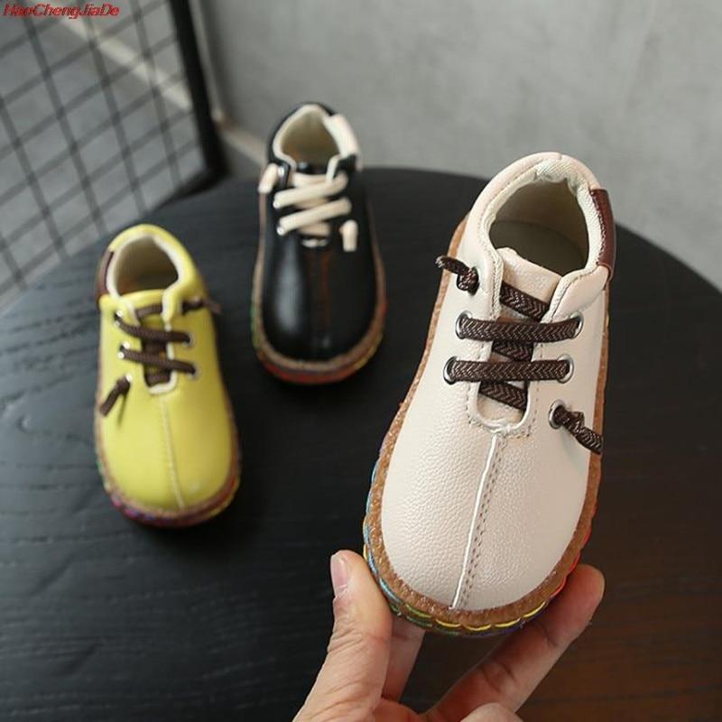 Kids Shoes Casual Footwear Children's Flattie Sneakers Small Foot Chaussure Enfant Styles Flat School Fashion Party