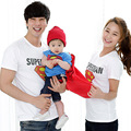 2017 Family Set Clothes Father And Son Shirts Cotton Superman Family Matching Shirts Fashion Short-Sleeve T-Shirts Plus Size