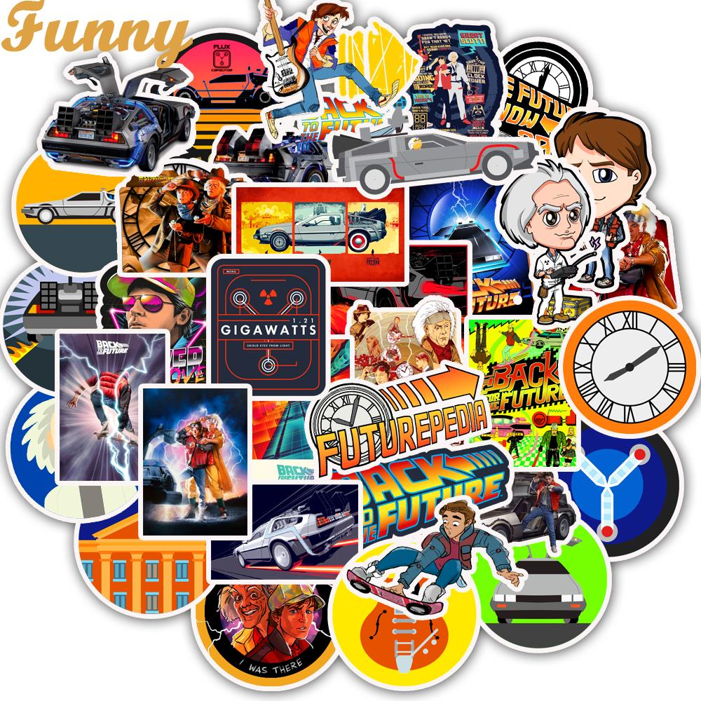 50 PCS Classic Movie Back To The Future Stickers Motorcycle Sticker For Phone Laptop Funny Graffiti Stickers Decals Pegatinas50 PCS Classic Movie Back To The Future Stickers Motorcycle Sticker For Phone Laptop Funny Graffiti Stickers Decals Pegatinas