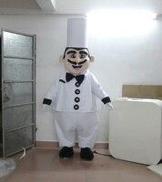 Gorąca sprzedaż kucharz kucharz maskotki kostium dla dorosłych rozmiar maskotki kostium