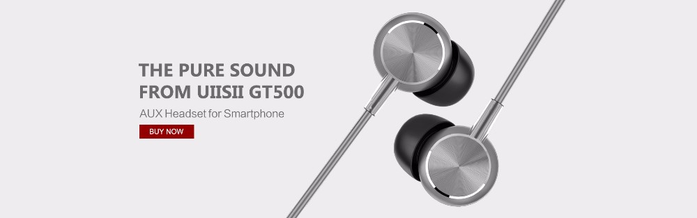 Uiisii Hi905 Volume Up In-Ear Earphone Headset Noise Cancelling Wired Control Stereo Earbuds For iPhone Xiaomi Mobile Phone