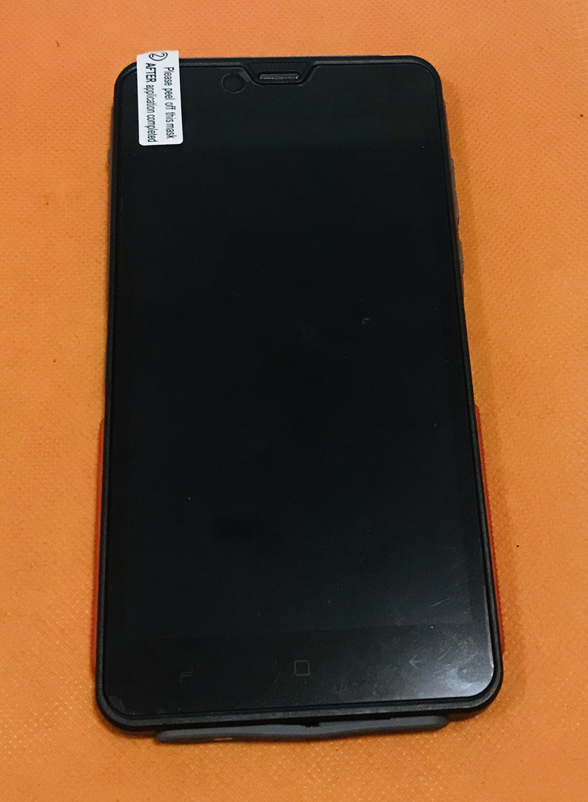 Original LCD Display Digitizer Touch Screen Frame for ELEPHONE Soldier Helio X25 MTK6797T Deca Core 5