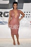 New 2015 Women Summer Autumn Sexy Basic rubber Dress Party Bodycolor OL Plus Kim kardashian same style XS~4XL latex