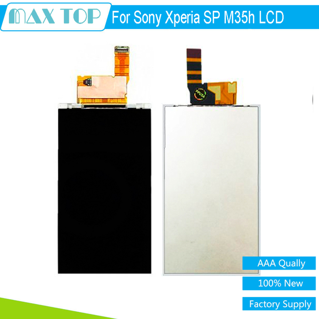 LCD For Sony M35h Repair parts Black LCD Display Screen For Sony Xperia SP M35h Replacement Free Shipping !!