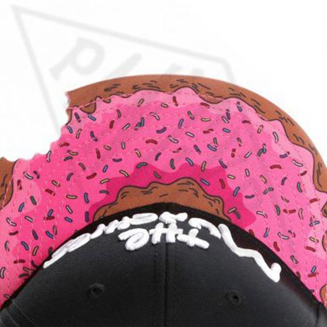 PANGKB Brand MUNCHIES CAP snacks pink snapback hat men women adult hip hop Headwear outdoor casual sun baseball cap gorras bone