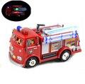 Новый Пожарный Сэм Игрушки Автомобили Грузовик Юпитер Музыка И Светодиодные Дети Прекрасные Игрушки для детей подарки Бесплатная Доставка