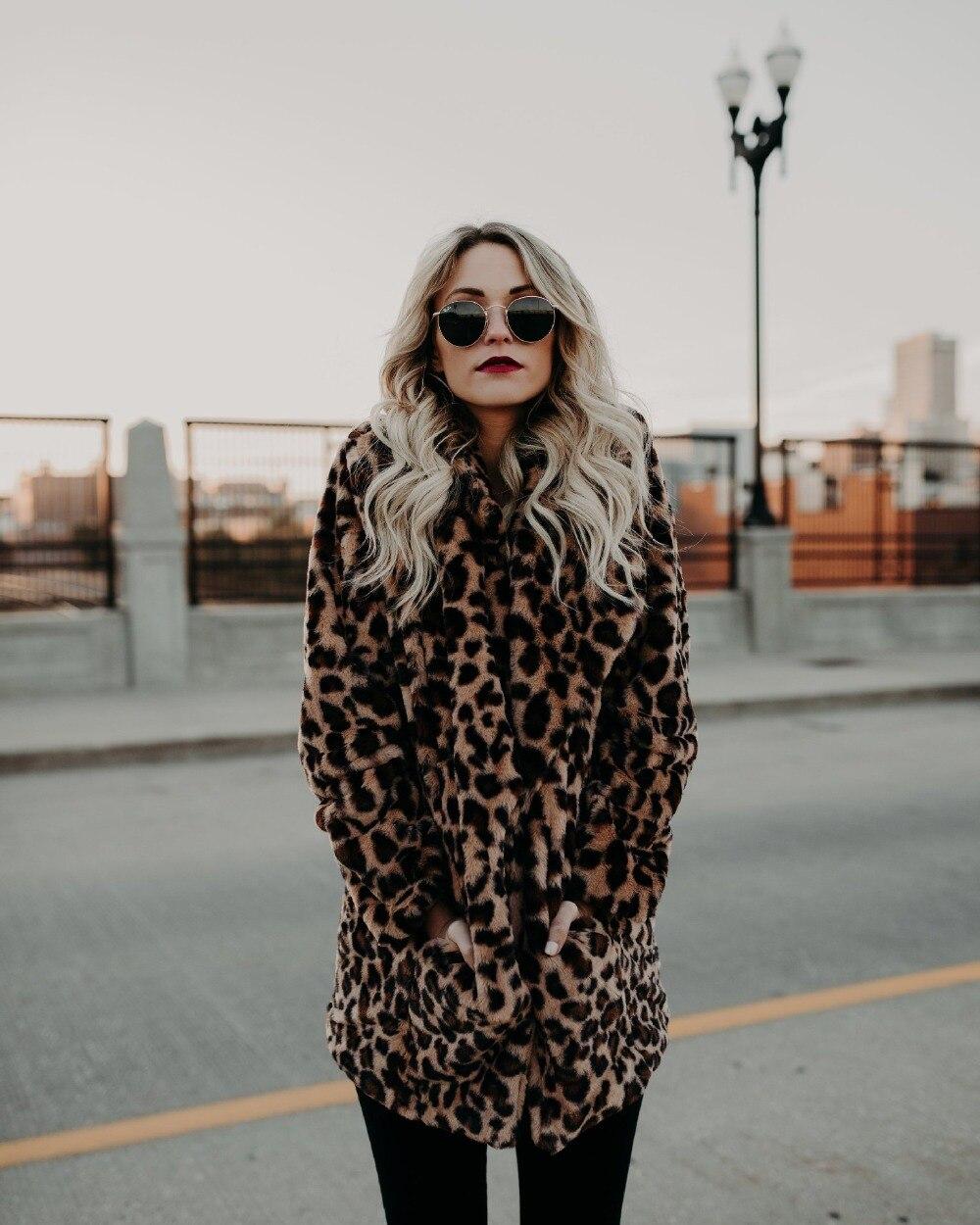 Luxury Faux Fur Coat 2