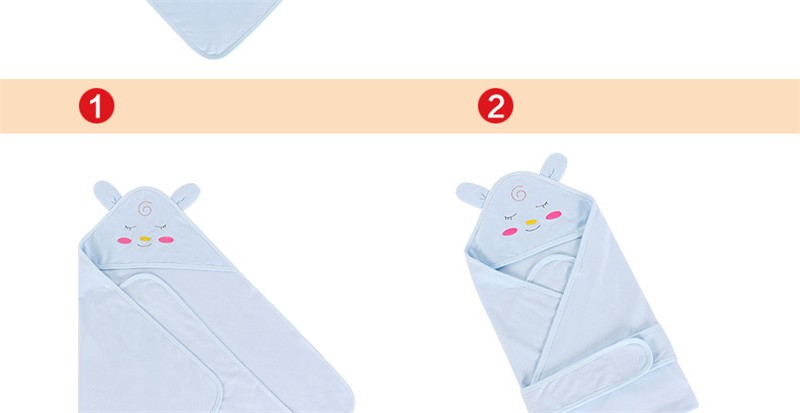 Baby Wrapped Blanket Warm Care (45)