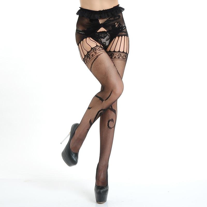Sexy Stocking font b 2017 b font Open Crotch Garter Tights font b Female b font