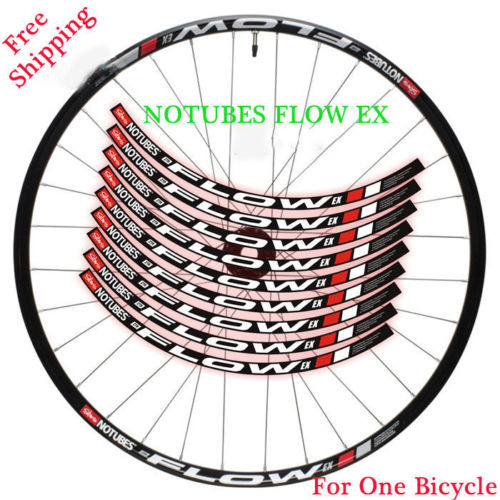 Stan NOTUBES de FLUX EX roue jante autocollants pour le Vélo De Montagne vélo VTT DH course vélo dcal