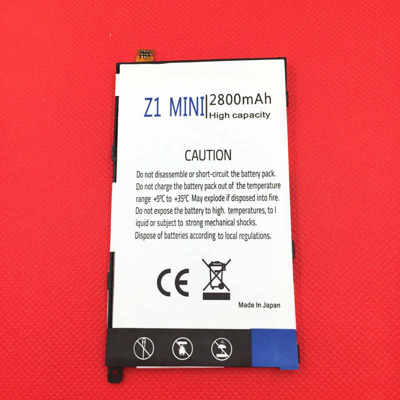 LIS1529ERPC 2800mAh Mobile Phone Battery for Sony Xperia Z1 mini Z1mini D5503 Z1 Compact M51w