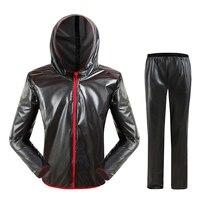 SZS Hot Waterproof Raincoat Suit Outdoor Fishing Fashion Sports Raincoat Unisex Riding Motorcycle Rainwear Suit Adult Xxl