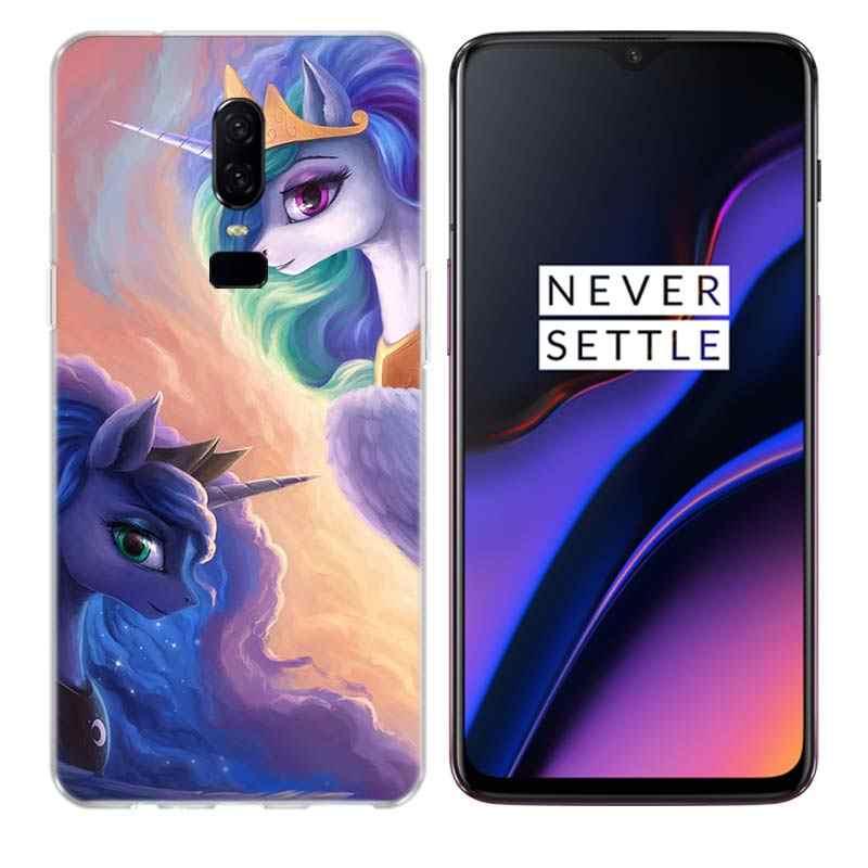 Милый подарок My Little Pony, забавный Чехол для мобильного телефона Oneplus 6 6 T 7 3 T 5 5 T Plus, индивидуальная Обложка с рисунком