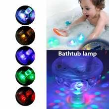 Красочная детская игрушка для ванной с мигасветильник Том забавные