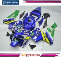 Injection Molding Road Fairings kit for Honda CBR600RR 2003 2004 CBR 600 RR 03 04 MOVISTAR ABS Fairing Cover