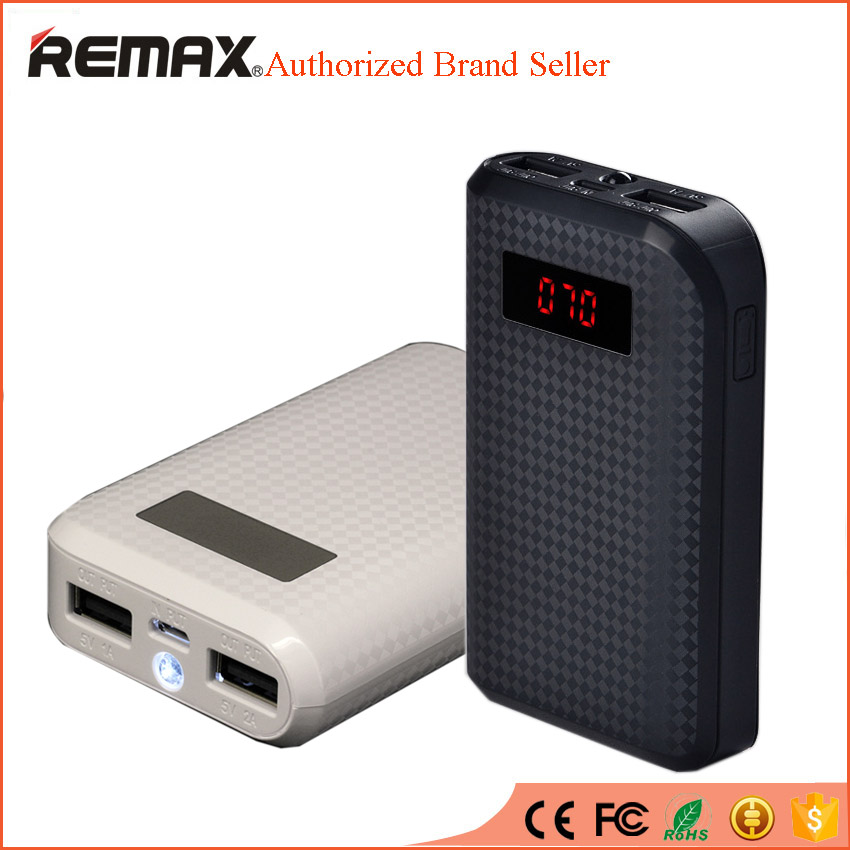 bilder für REMAX Mini Energienbank 10000 mAh Bewegliche Powerbank Externe Handy Ladegerät Backup bateria externa cargador portatil