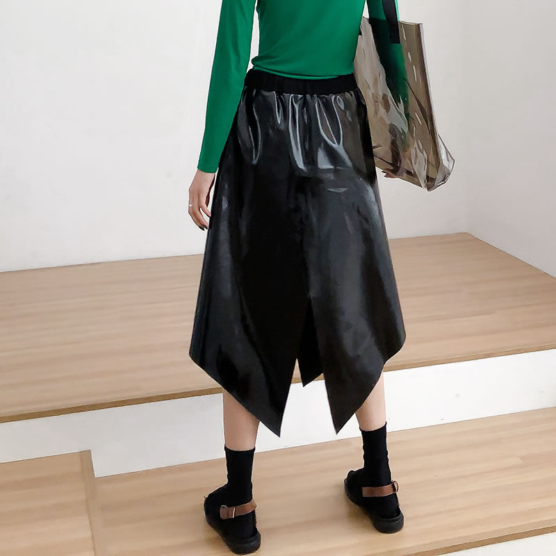 Black Wide Irregular Korea Dll2868 Color length Spring Ankle Leg Summer xitao 2019 Fashion Solid Pants Female Straight New T0BnAq