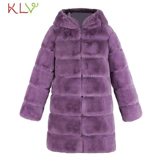 Women Jacket Winter 2018 Faux Fur Hooded Luxury Long Plus Size Ladies Chamarra Cazadora Mujer Coat For Girls 18Oct29 5