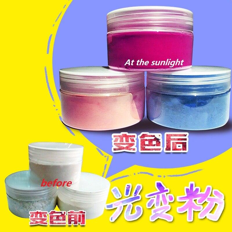 photochromic pigment,sunlight sensitive pigment,color change by sunlight or UV light Acrylic paint,color:blue,yellow,etc change translated by howard goldblatt