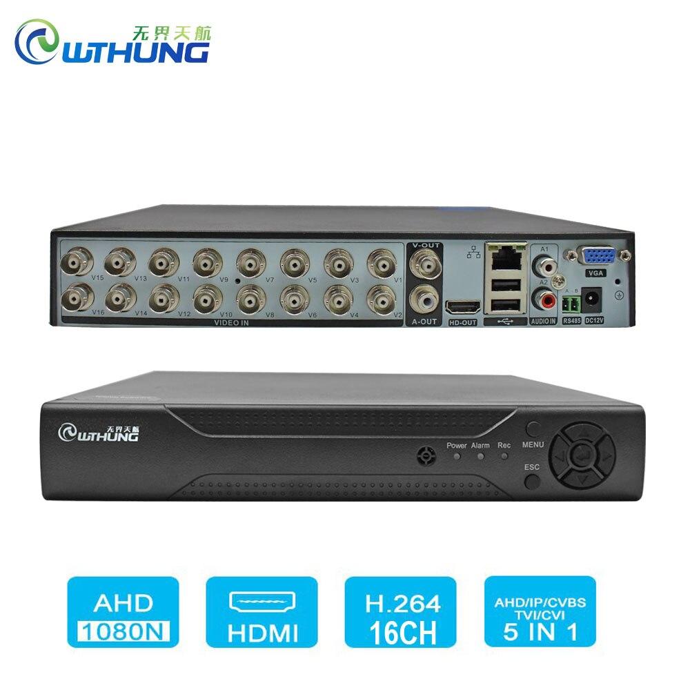 16 Channels HD H.264 Hybrid Security DVR//NVR TVI//960//IP//Cloud//Audio//Mobile