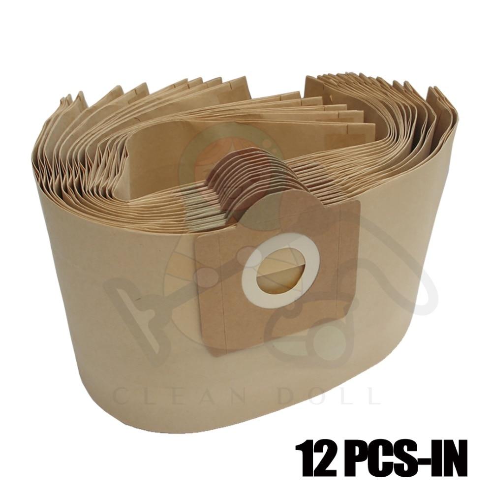 12X dust bag for KARCHER NT 27/1 95332120 6.959-130 ZR-81 MV3 ZR814 WD3200 WD3300 RU101 381 RU100 VACUUM CLEANER DUST BAGS 10 pcs dust bag for rowenta zr 81 vcp3811 ru 100 vacuum cleaner paper bags bag27 ru01 ru02 ru020 ru03 ru05 ru065 ru07