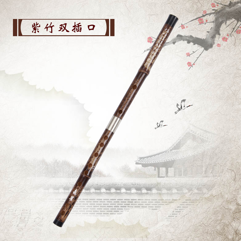Здесь продается  Bamboo flute musical instrument double socket Calls zizhu the disassemblability professional flute  Спорт и развлечения