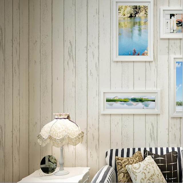 Online Shop 10M 3D Modern Fashion Horizontal Blue Striped Wallpaper