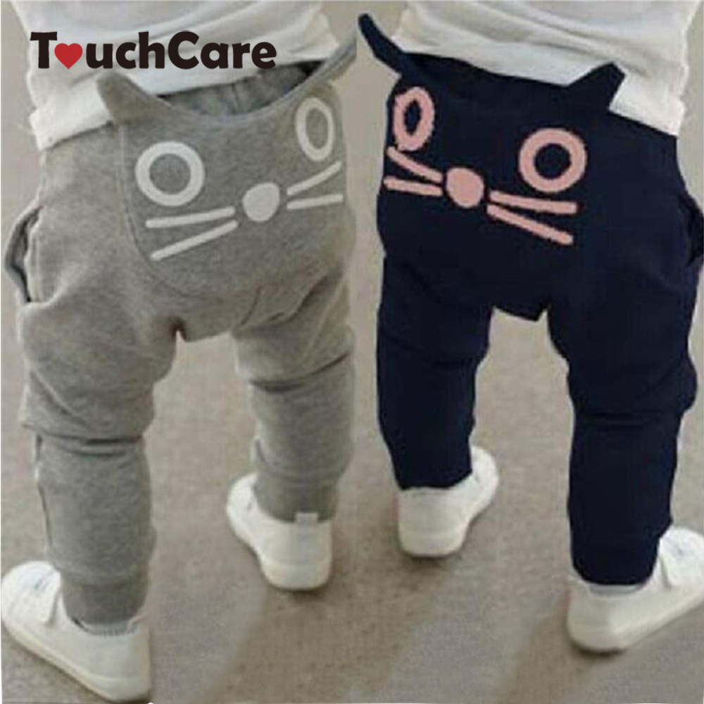 Touchcare Cute Cartoon Baby Pants Baby Boy Girls Harem Pant Ruffle Pant Causal Pants For The Boy Owl Long Trousers