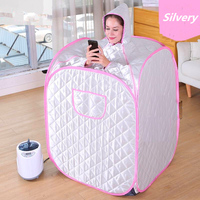 Portable Sauna Steam SPA Heater Room Slimming Sauna kits Detox Machine Shower Room Steamer Wet sauna