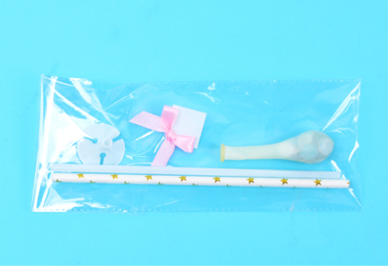 1pc Confetti Dots บอลลูนเค้ก Topper ตกแต่งกระดาษฟางริบบิ้นตารางทารกฝักบัววันเกิดอุปกรณ์จัดงานแต่งงาน