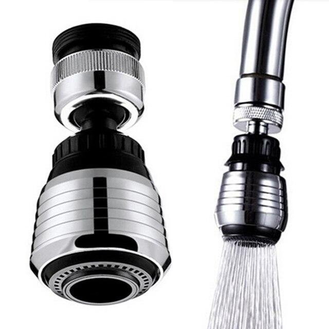 Neue 360 Drehen Küchenarmatur Adapter Spray Wasserfilter Saving ...