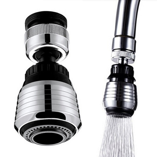 kitchen faucet adapter rugs for hardwood floors in new 360 rotate spray water purifier saving tap head replacement filter accessory
