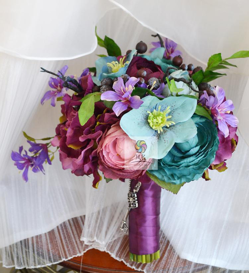 Average Cost Of Wedding Flowers 2014: Handmade Artificial Flowers Wedding Floral Vintage Garden