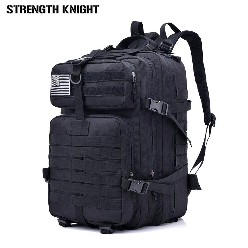 40L Army Military Assault Pack Backpack Multifunction Waterproof Mountaineering Backpacks Wear-resisting Travel Bag men s new military tactics backpack multifunction waterproof oxford 1680d hike camp backpacks wear resisting bag