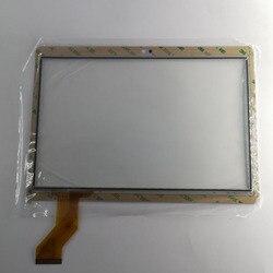 10.1 cal MTCTP 10617 ekran dotykowy Panel zamiennik digitizera dla YUNTAB K17 mtk8752|Ekrany LCD i panele do tabletów|Komputer i biuro -