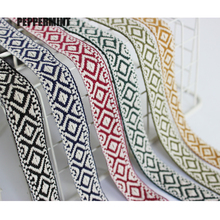 Trim-Accessory Webbing Embroidery-Style Wide-Ribbon Garment/homedeco Lace Jacquar Cotton