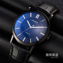 New 2016 hot sell Mens Watches Top Brand Luxury Quartz Watch Leather Clock Male watch Fashion style super quality for wholesale