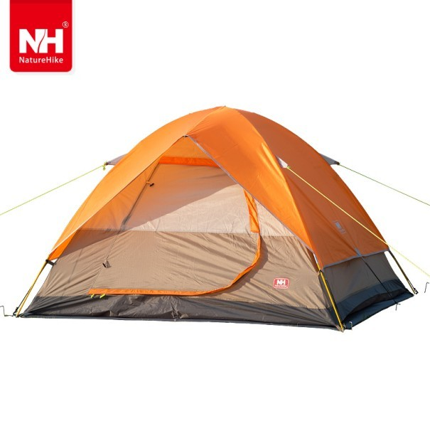 UPS FEDEX FAST SHIPPING New 215*215*130 cm Double Person Waterproof Double Layer Outdoors Camping Durable Gear Picnic Tent