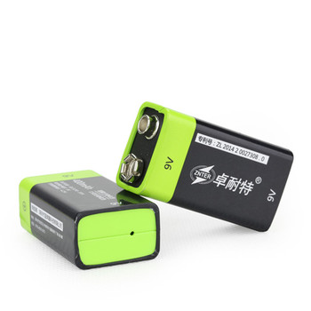 1/2/4 PCS ZNTER S19 9V 400mAh USB Rechargeable 9V Lipo Battery For RC Camera Drone Quadcopter DIY Accessories Spare Parts 5