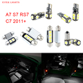 13pcs LED Canbus Interior Lights Kit Package For Audi A7 S7 RS7 C7 (2011+)