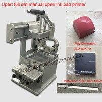 Abrir mão de tinta tampongrafia máquina