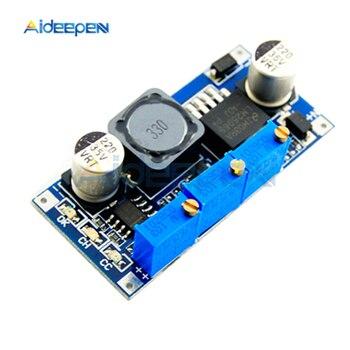LM2596 LED sürücü DC-DC adım aşağı güç kaynağı modülü 7 V-35 V için 1.25 V-30 V 3A ayarlanabilir voltaj regülatörü dönüştürücü Arduino için