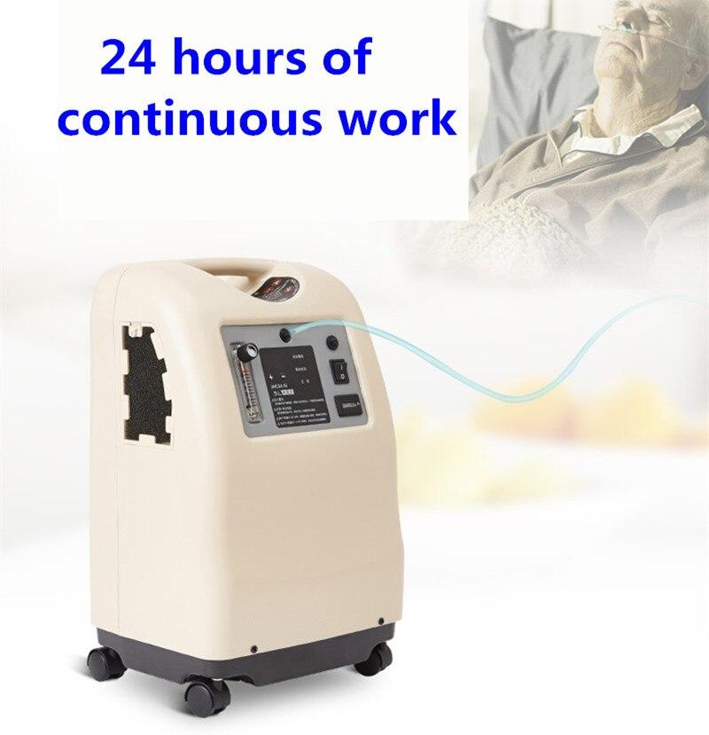 Молекулярное сито hepa фильтр медицинский портативный 3л/5л концентратор кислородаКислородная машина