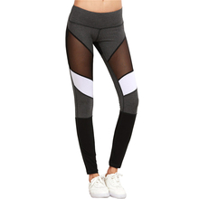 Casual Leggings Women Fitness Leggings Color Black Autumn Winter Workout Pants New Arrival Mesh Insert Leggings Y149 Z50